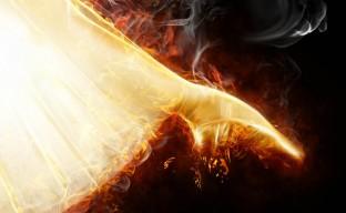 دانلود تصویر پس زمینه با آتش hd